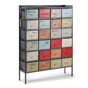 keywest-cassettiera-24-cassetti-in-metallo-multicolormobilecontenitore