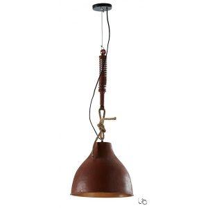 sadie-con-paralume-in-metallo-invecchiato-nero-o-naturale-lampadario-living-illuminazione-casa-livitalia-design